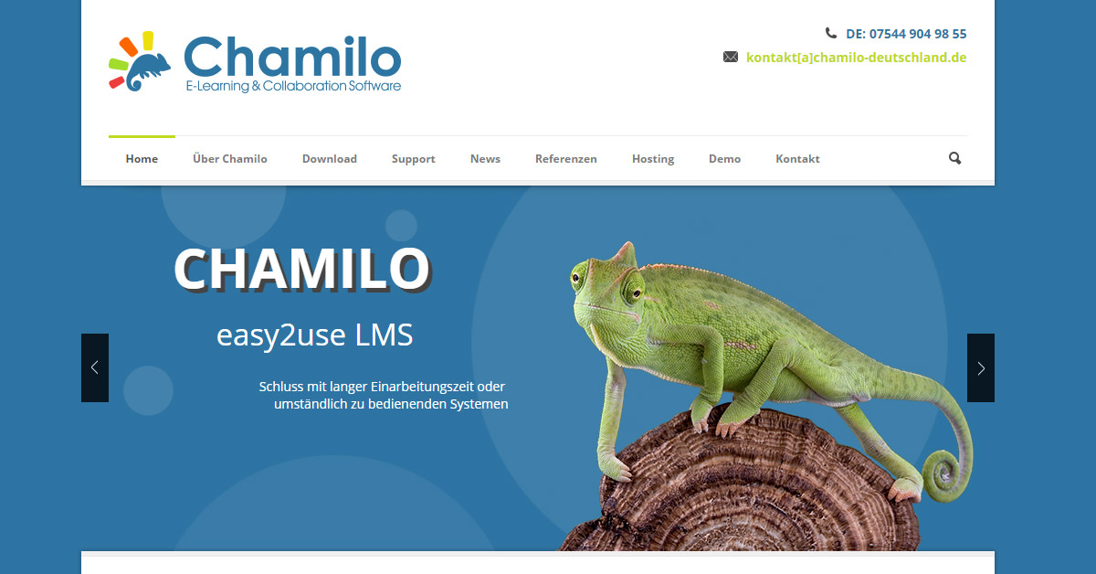 Chamilo - open source LMS