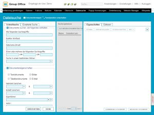 Dateisuche-Dokumentenmanagement