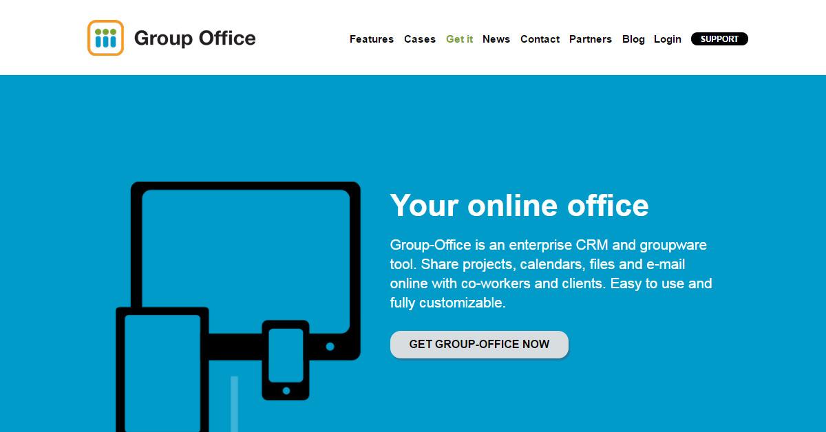 Group-Office - open source CRM mit Adressverwaltung und vielem mehr...