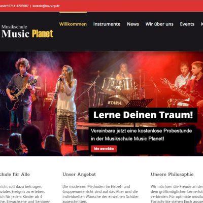 Musikschule Music Planet Stuttgart