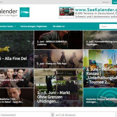 SeeKalender - Veranstaltungen und Termine in der Bodensee-Region