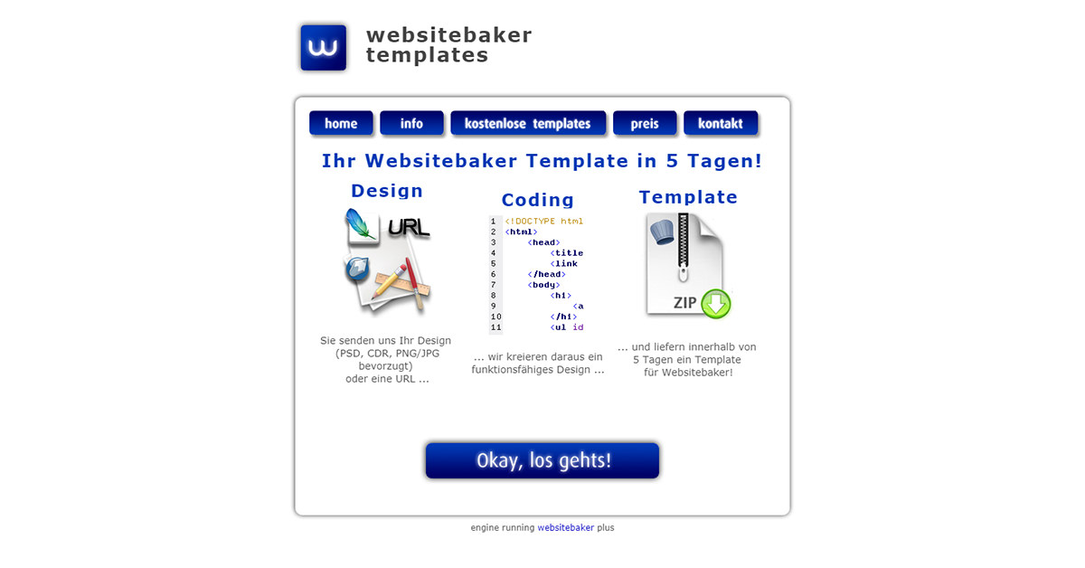WebsiteBaker Templates