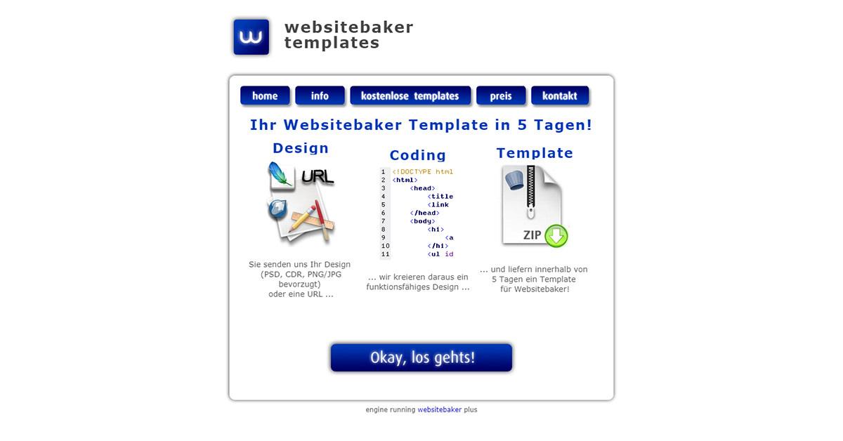 Websitebaker Templates
