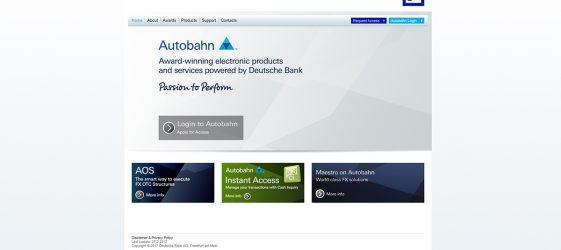 Deutsche Bank veröffentlicht Sourcecode von Autobahn