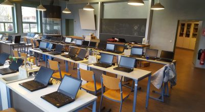 Schulnetzwerk/Notebook-Klasse der Freien Waldorfschule Minden