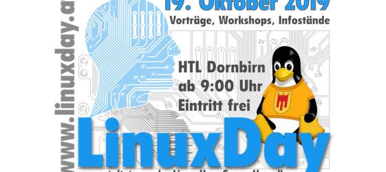Linuxday/Linuxtag 2019 in Dornbirn, Österreich